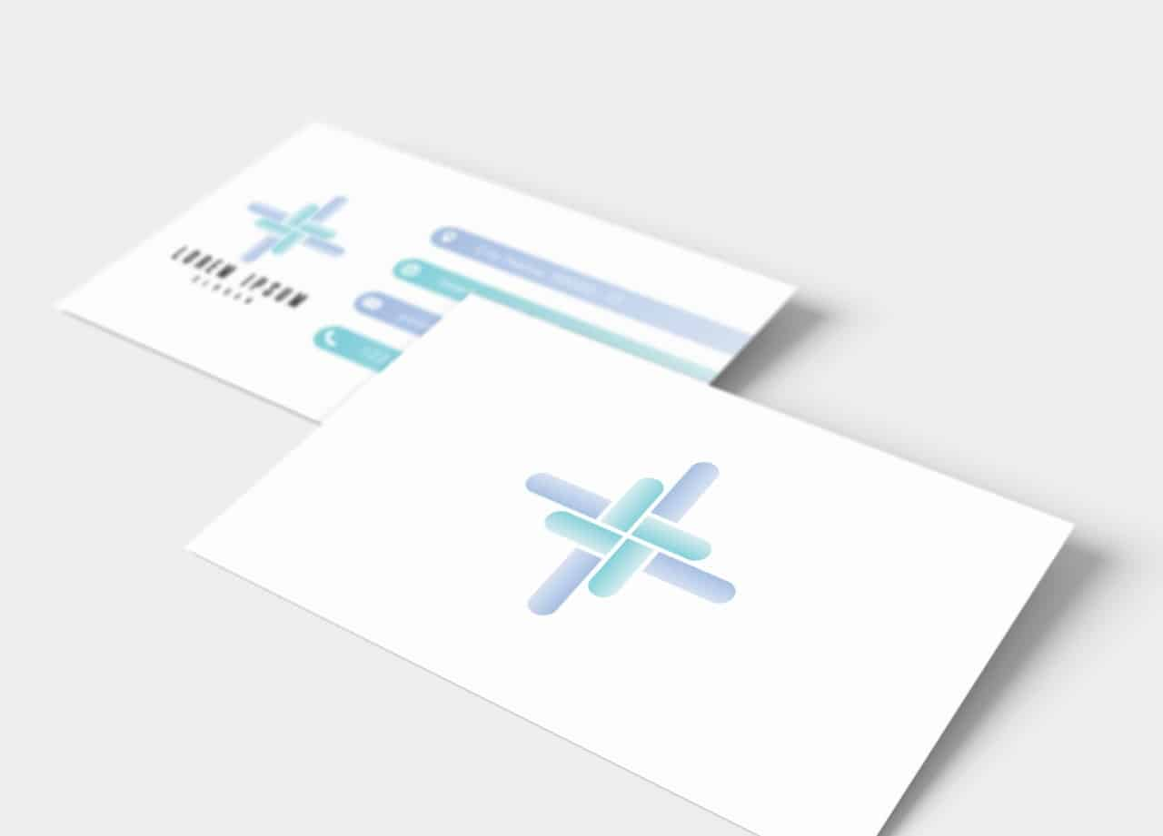 1 Business Card Mockup